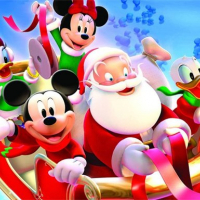 Disney Christmas Jigsaw Puzzle