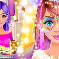 Face Paint Salon: Glitter Makeup Party Games