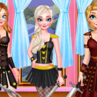 WARRIOR PRINCESS DRESS UP